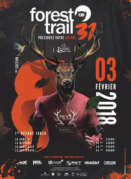 FOREST TRAIL AFFICHE